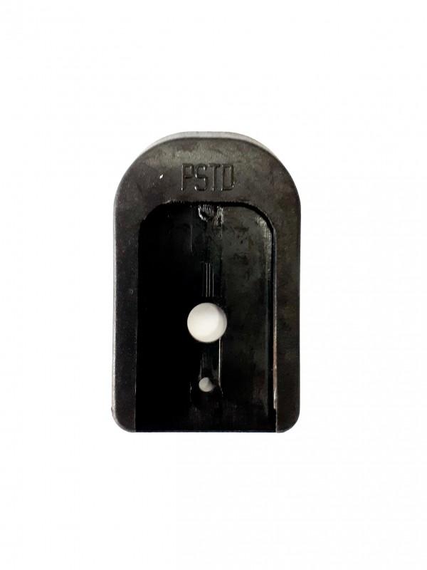 61-K100/GP - PLASTIC HEEL FOR MAGAZINE/BASE PAD PLASTICO .380 - SMALL